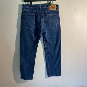 Levi's 505 dark wash, size 32 / 29